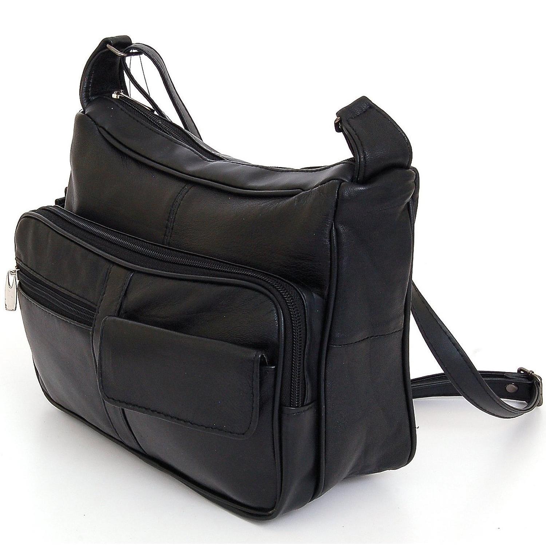 AFONiE Soft Leather Purse - Black photo