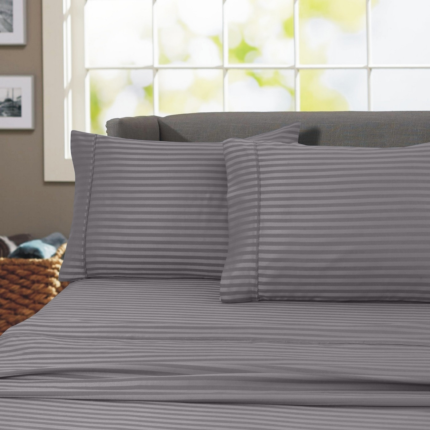 Home Sweet Home Dreams Inclondon Collection 600 Thread Count Stripe 100 Egyptian Cotton 4 Piece Sheet Set Twin Aqua Dailymail