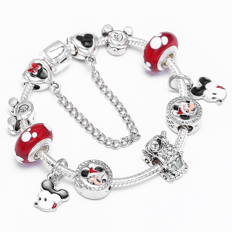 DIY_Mickey_Bracelet_New_Creative_Cartoon_Bracelet_Children's_Beautiful