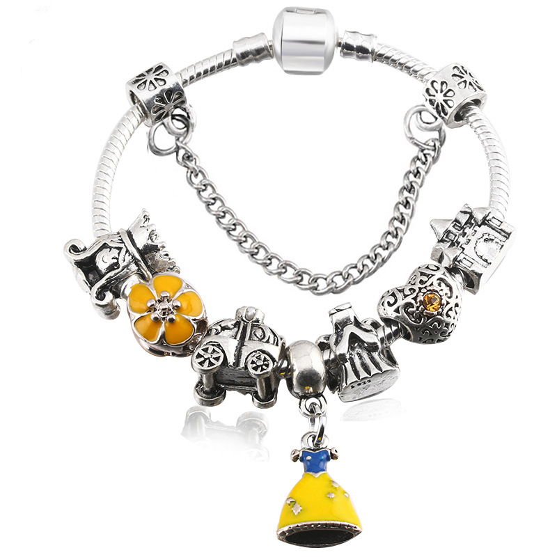 Mickey_glass_DIY_beads_with_diamond_drop_oil_for_bracelet_style_cartoon