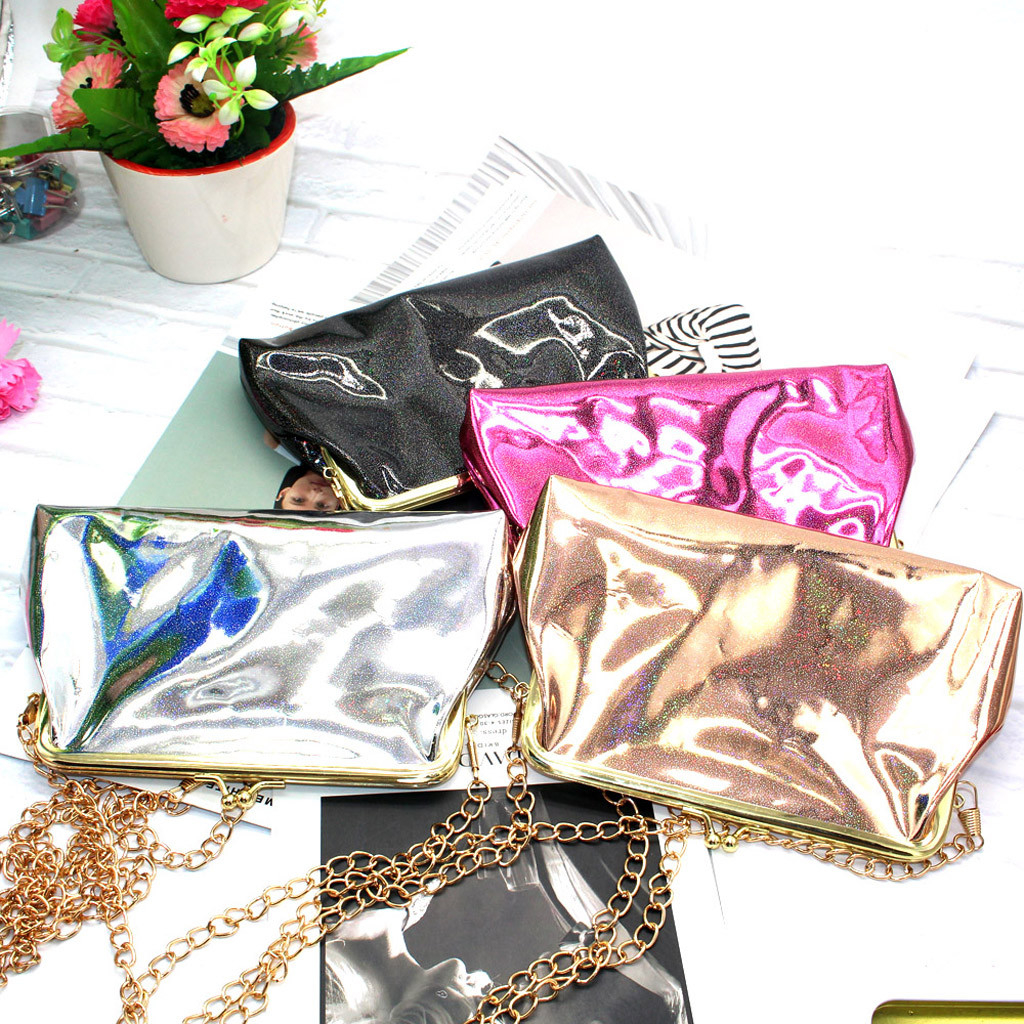 Sequins Coin Purse Mesh Girls Bag Creative Student Small Woman Wallet photo