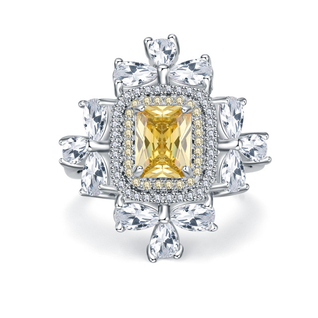 New_fashionable_Diamond_Platinum_yellow_diamond_ring_-_6