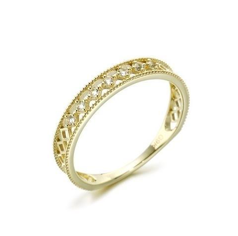 Va_Natural_White_Topa_Round_Ring_Female_925_Plain_Silver_Gold-plated_Square