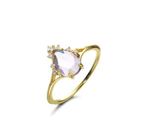 925_Silver_and_Gold_Natural_Brazilian_Amethyst_Ring_-_5