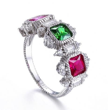 Zircon_Geometric_Ring_with_Diamond_Micro-inlay_Jewelry_-_color,_6