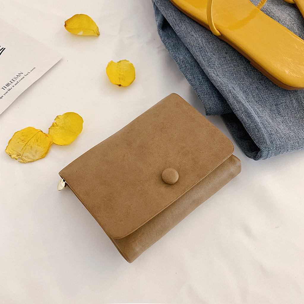 Women  Cute Soft Leather Change Purse Wallet Credit Card Holder_1336 (QQQ90619087KH) photo