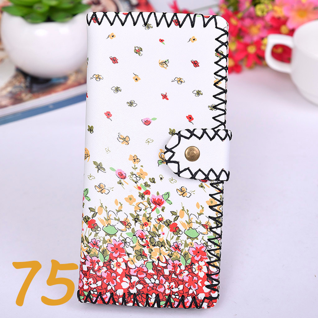Women's Upgraded Handmade Wallet Coin Purse National Style Wallet Coin (XYL90812800D) photo