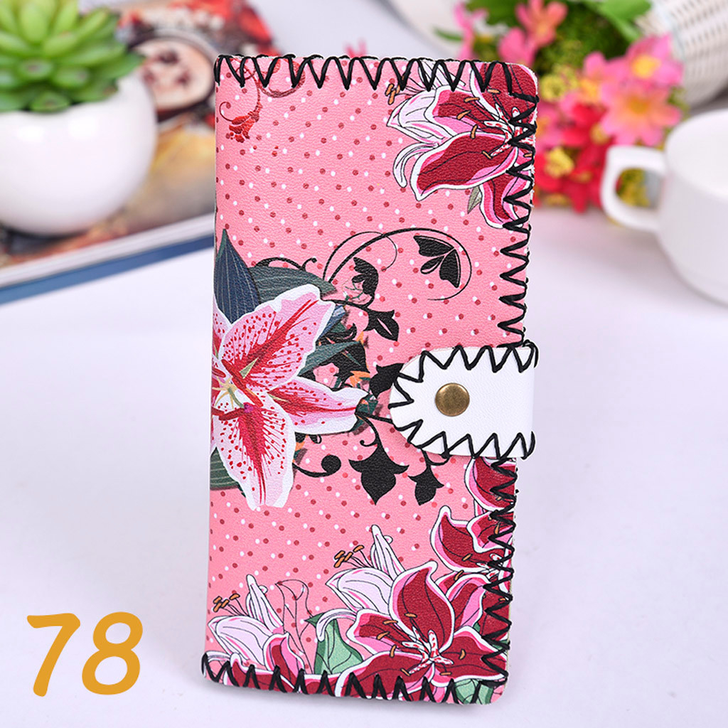 Women's Upgraded Handmade Wallet Coin Purse National Style Wallet Coin (XYL90812800G) photo