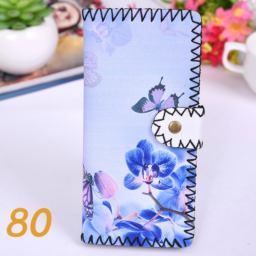 Women's Upgraded Handmade Wallet Coin Purse National Style Wallet Coin (XYL90812800I) photo