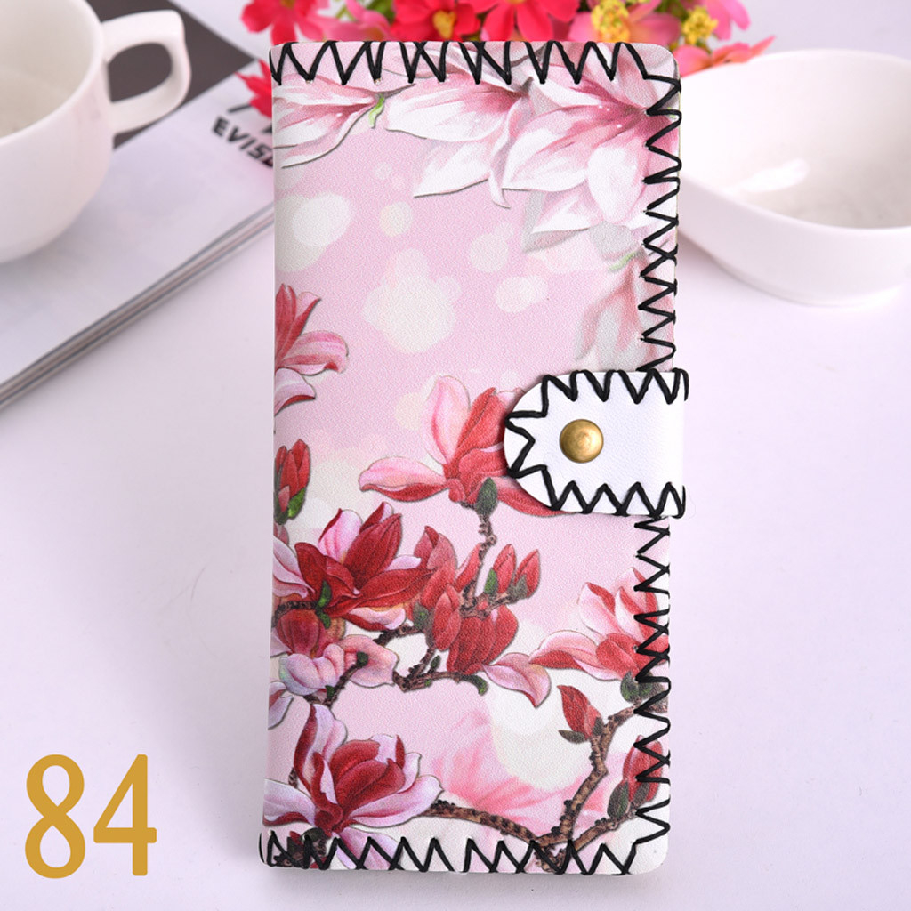 Women's Upgraded Handmade Wallet Coin Purse National Style Wallet Coin (XYL90812801B) photo
