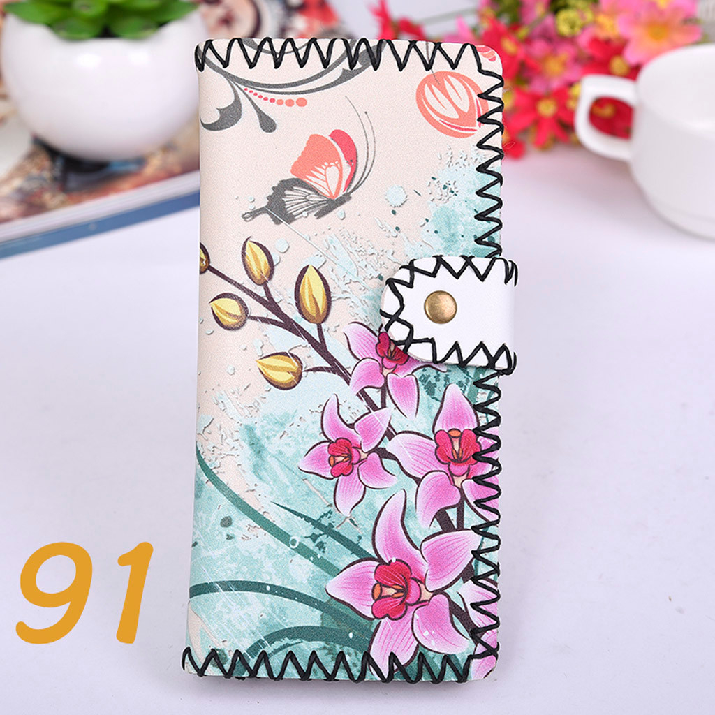 Women's Upgraded Handmade Wallet Coin Purse National Style Wallet Coin (XYL90812801H) photo