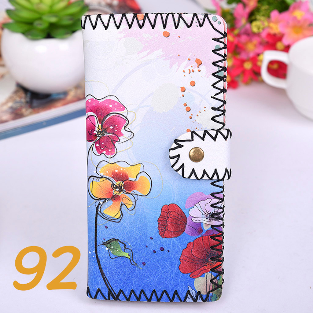 Women's Upgraded Handmade Wallet Coin Purse National Style Wallet Coin (XYL90812801I) photo