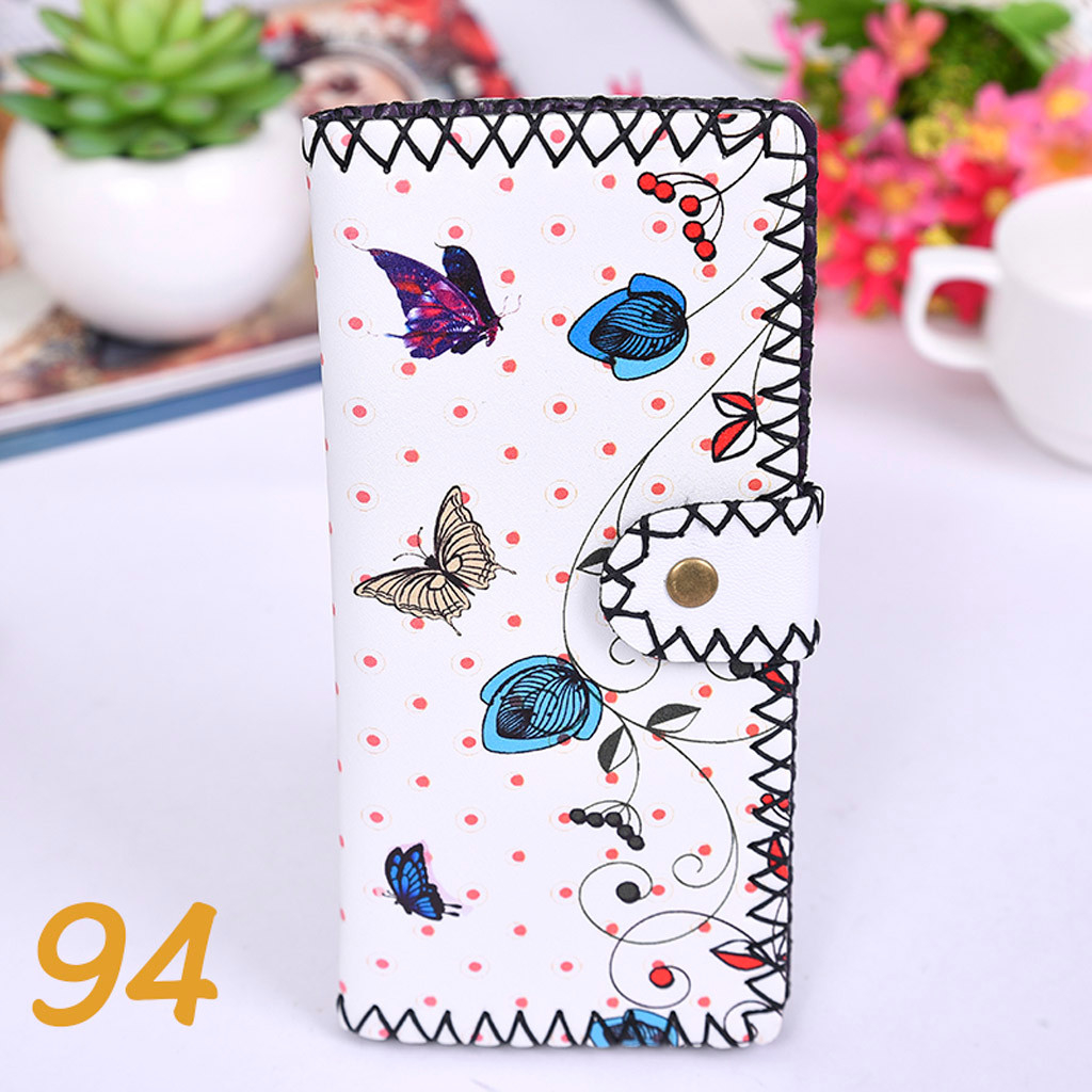Women's Upgraded Handmade Wallet Coin Purse National Style Wallet Coin (XYL90812801K) photo