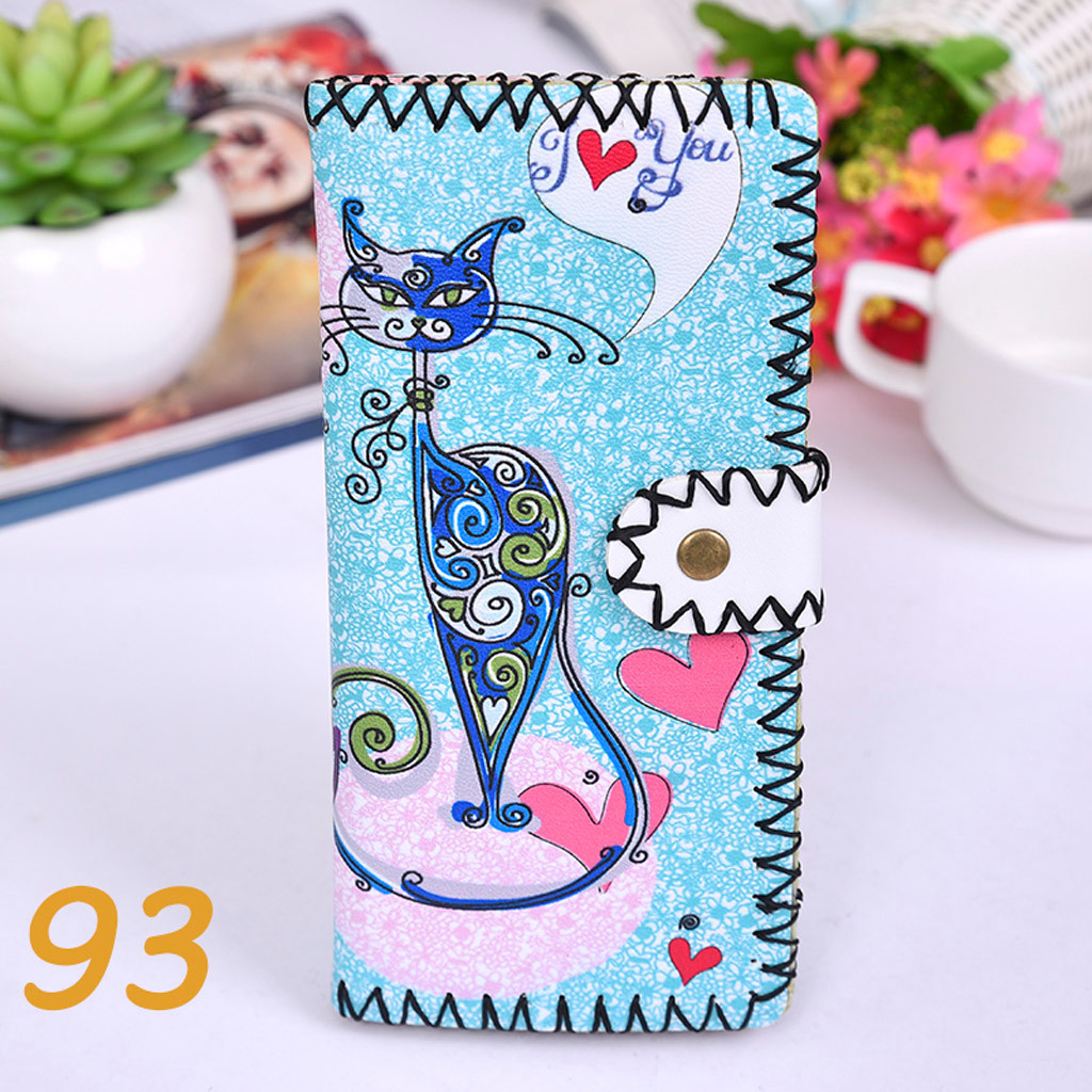 Women's Upgraded Handmade Wallet Coin Purse National Style Wallet Coin (XYL90812801J) photo