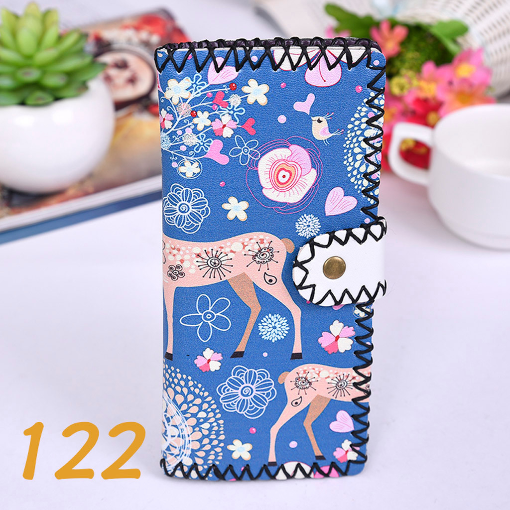 Women's Upgraded Handmade Wallet Coin Purse National Style Wallet Coin (XYL90812802E) photo