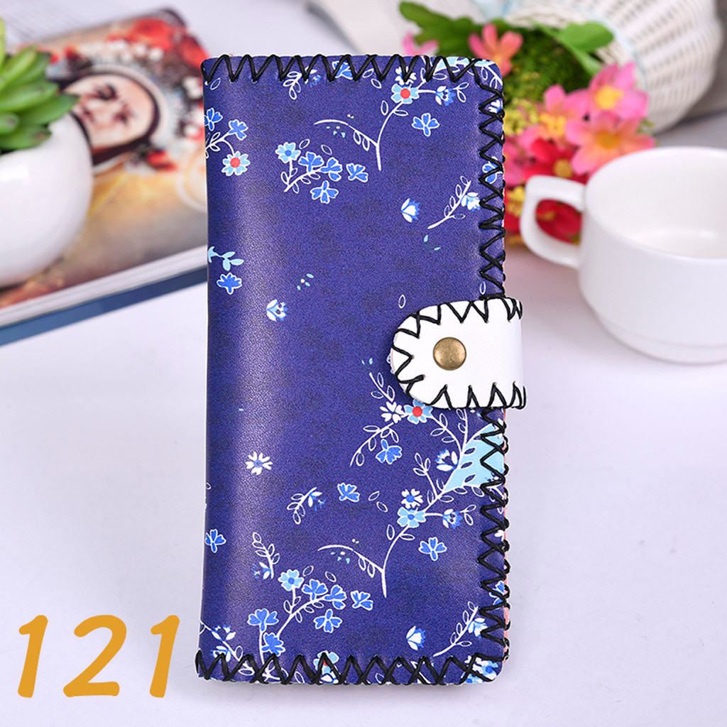 Women's Upgraded Handmade Wallet Coin Purse National Style Wallet Coin (XYL90812802D) photo