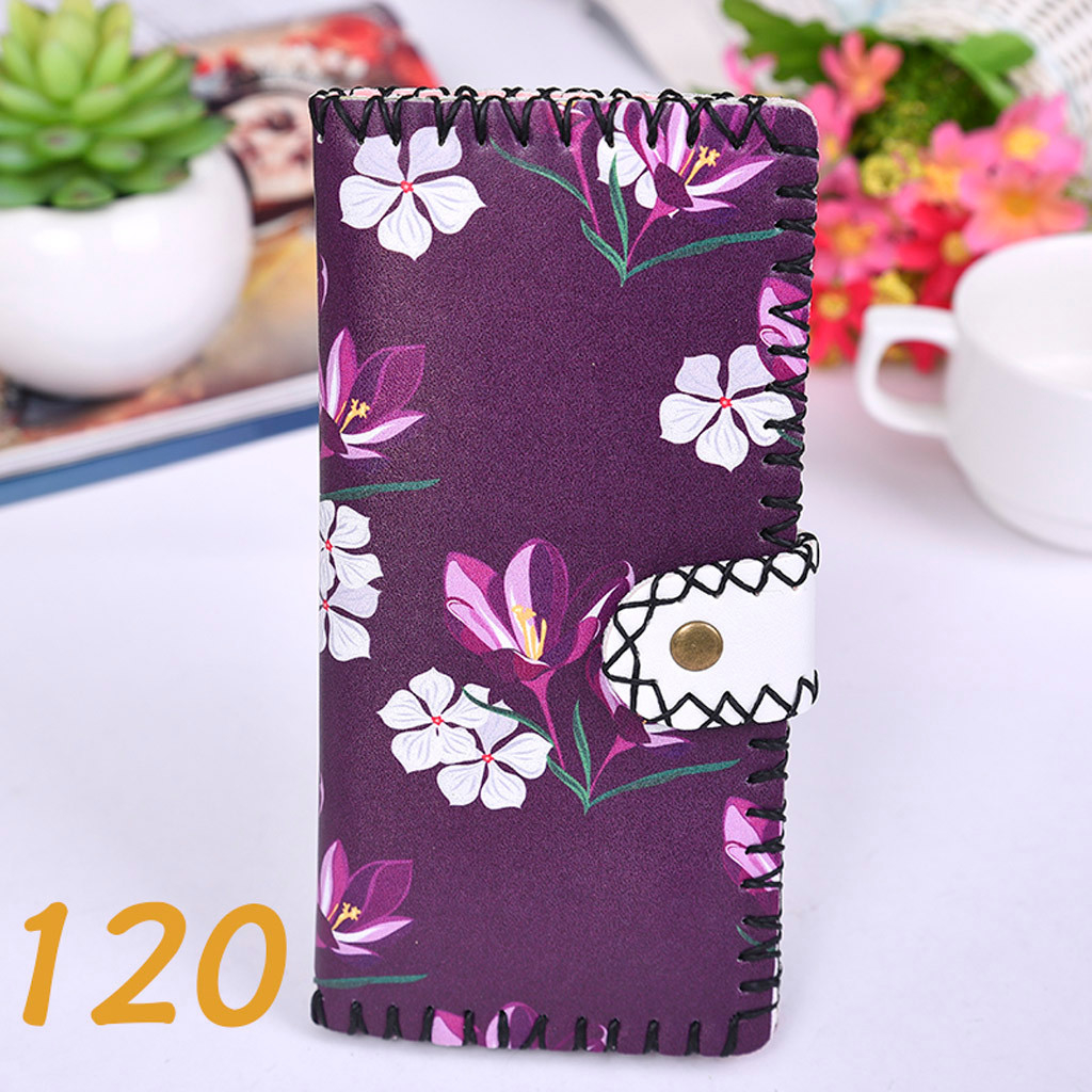Women's Upgraded Handmade Wallet Coin Purse National Style Wallet Coin (XYL90812802C) photo