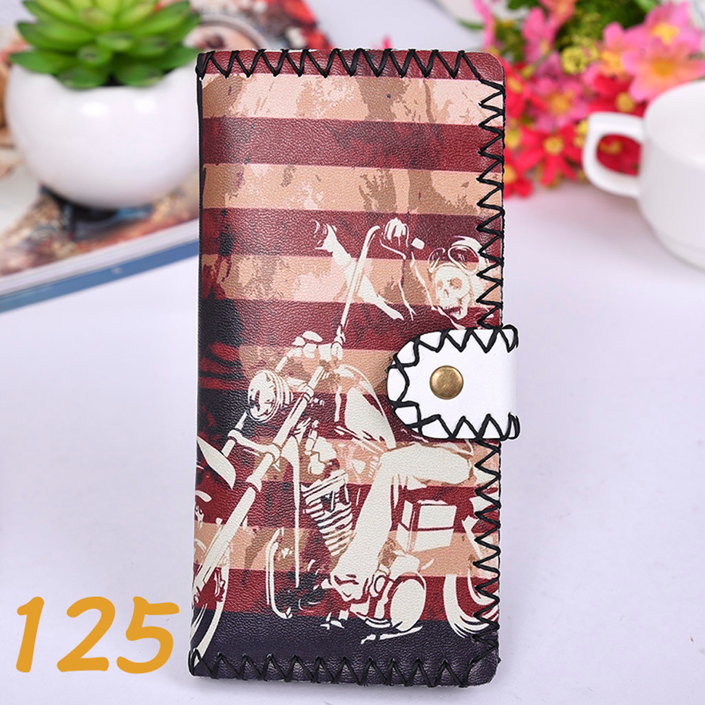 Women's Upgraded Handmade Wallet Coin Purse National Style Wallet Coin (XYL90812802H) photo
