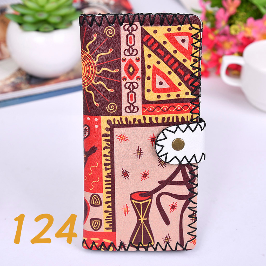 Women's Upgraded Handmade Wallet Coin Purse National Style Wallet Coin (XYL90812802G) photo