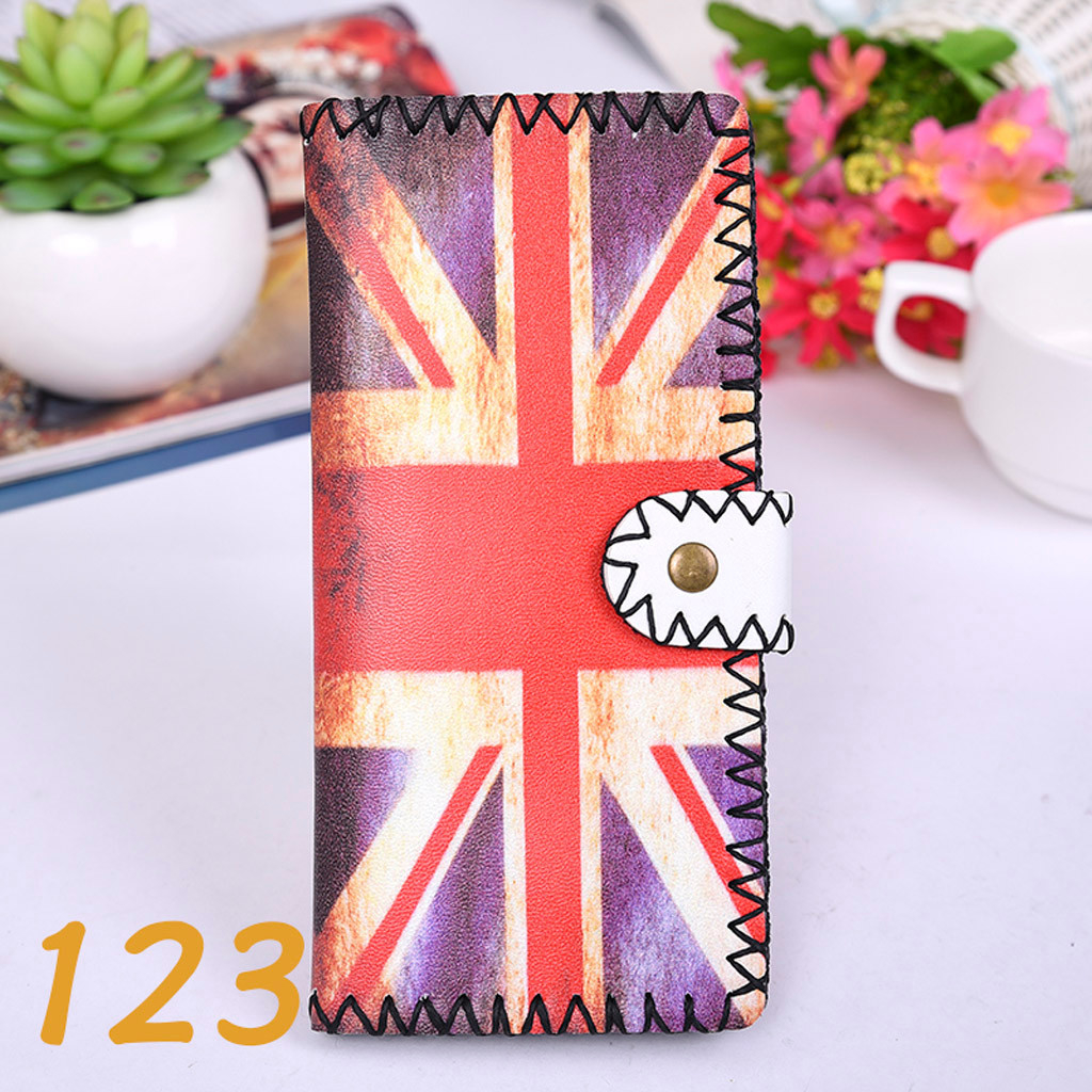 Women's Upgraded Handmade Wallet Coin Purse National Style Wallet Coin (XYL90812802F) photo