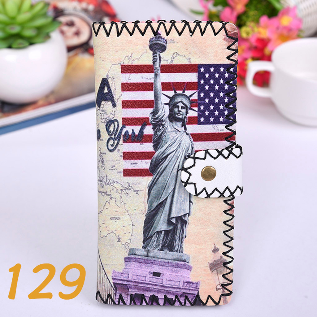 Women's Upgraded Handmade Wallet Coin Purse National Style Wallet Coin (XYL90812802K) photo