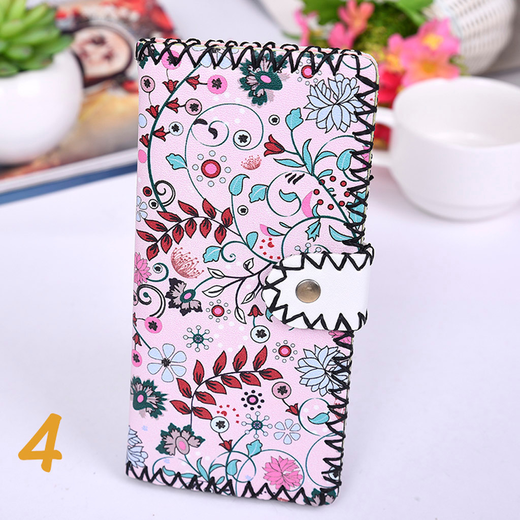 Women's Upgraded Handmade Wallet Coin Purse National Style Wallet Coin (XYL90812803C) photo