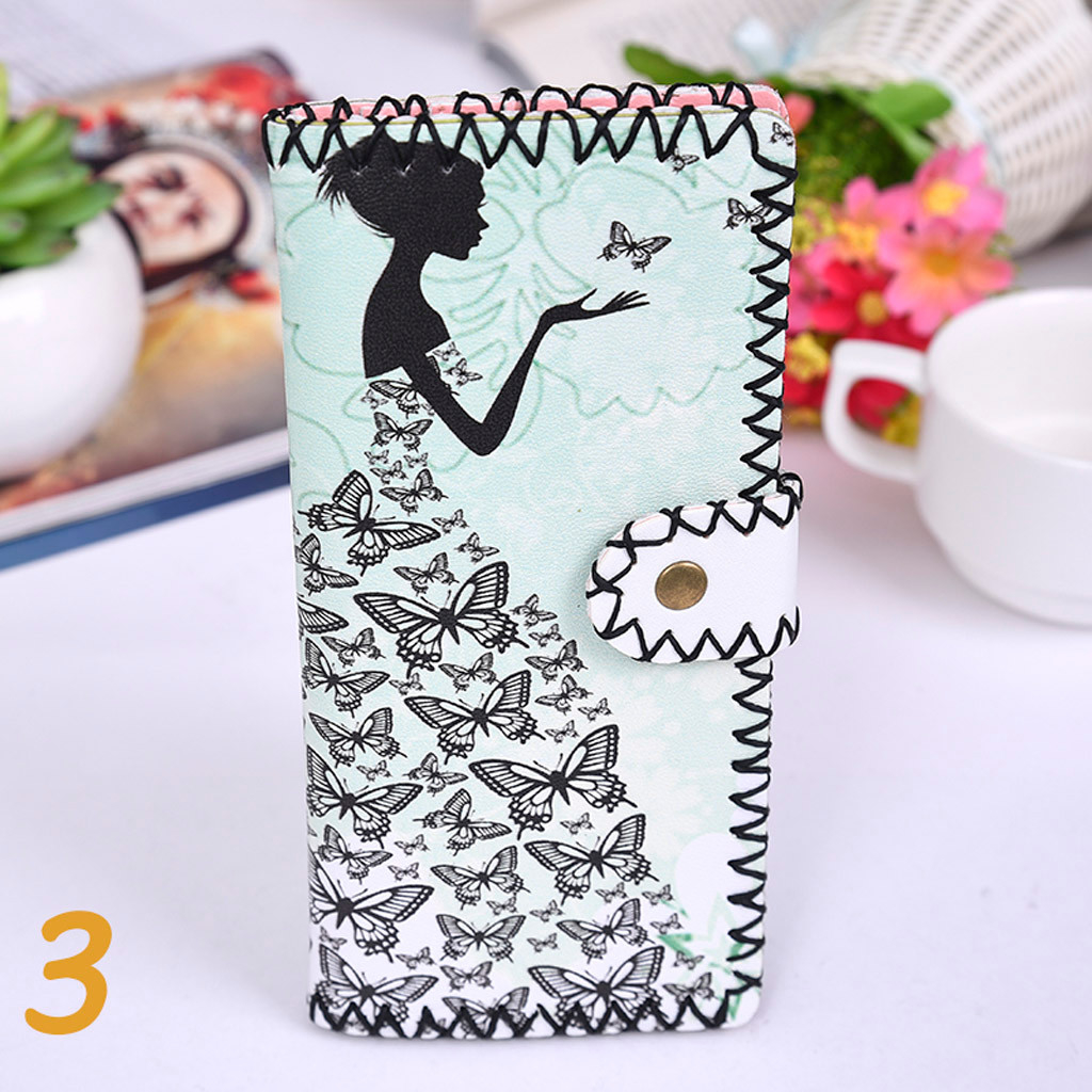 Women's Upgraded Handmade Wallet Coin Purse National Style Wallet Coin (XYL90812803B) photo