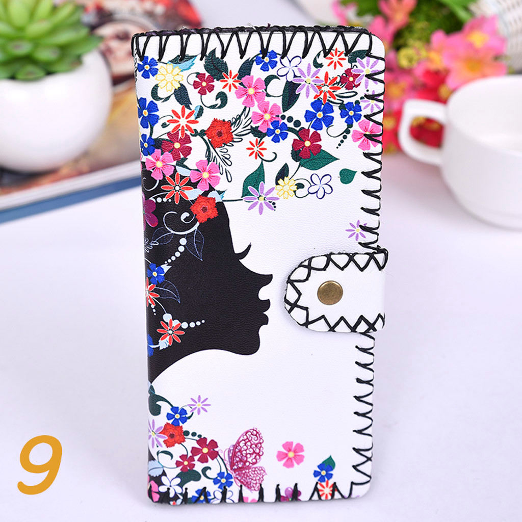 Women's Upgraded Handmade Wallet Coin Purse National Style Wallet Coin (XYL90812803H) photo