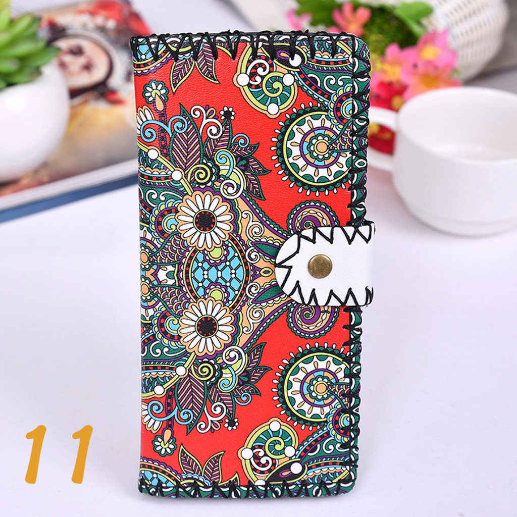 Women's Upgraded Handmade Wallet Coin Purse National Style Wallet Coin (XYL90812803I) photo