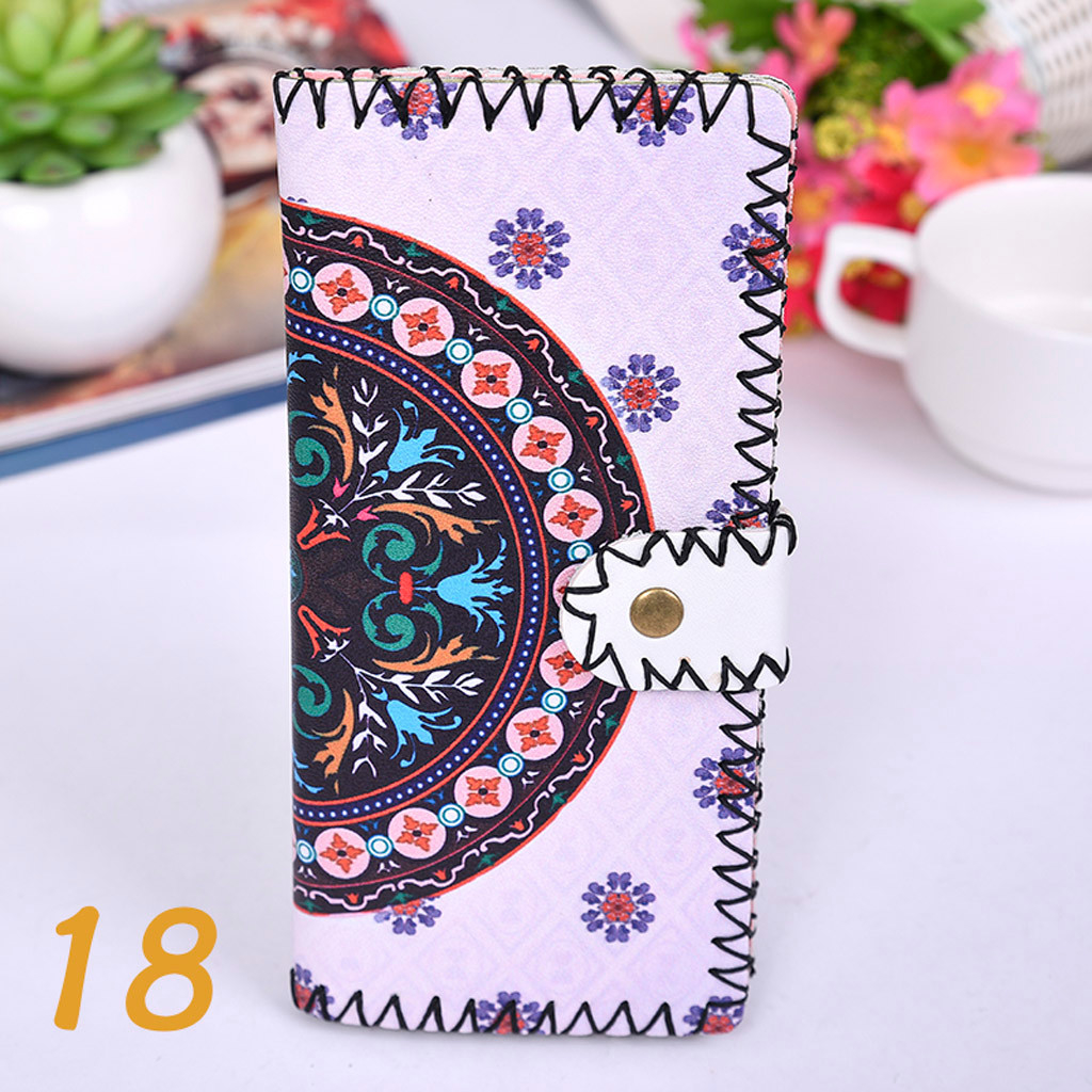 Women's Upgraded Handmade Wallet Coin Purse National Style Wallet Coin (XYL90812803L) photo