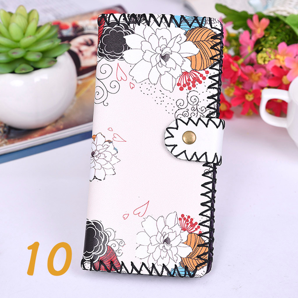 Women's Upgraded Handmade Wallet Coin Purse National Style Wallet Coin (XYL90812803E) photo