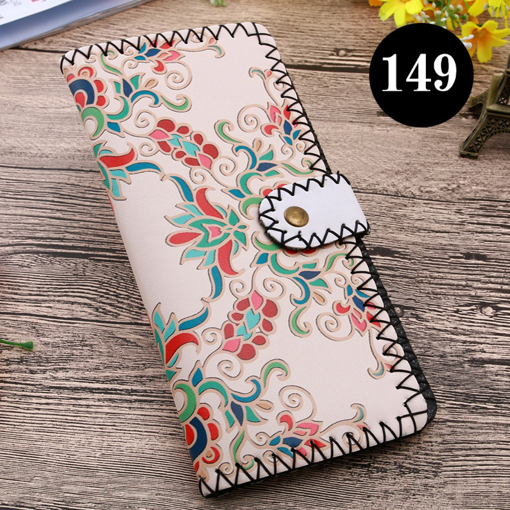 Women's Upgraded Handmade Wallet Coin Purse National Style Wallet Coin (XYL90812804F) photo