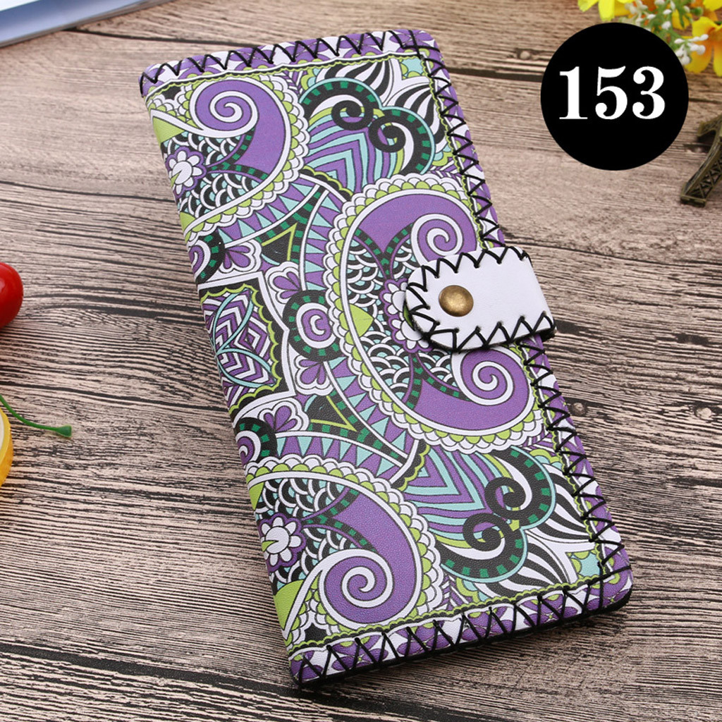 Women's Upgraded Handmade Wallet Coin Purse National Style Wallet Coin (XYL90812804G) photo
