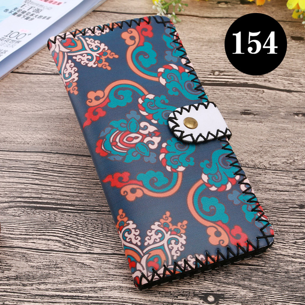 Women's Upgraded Handmade Wallet Coin Purse National Style Wallet Coin (XYL90812804I) photo