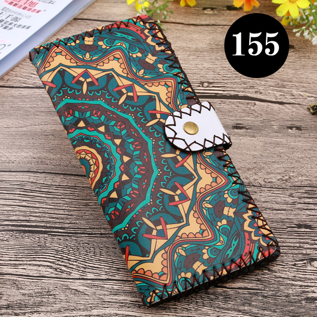 Women's Upgraded Handmade Wallet Coin Purse National Style Wallet Coin (XYL90812804H) photo
