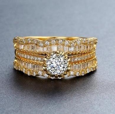 18K_Gold_luxury_three_piece_set_-_silver,_6