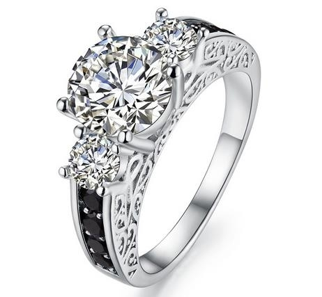 Sterling_Silver_Diamond_Ring_luxury_temperament_ring_-_6