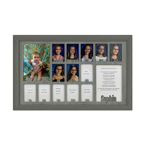 School_Years_Picture_Frame_-12_x_20_Personalized_Preschool_2.5_x_3.5