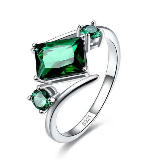 New_925_Sterling_Silver_Green_zirconium_ring_-_6