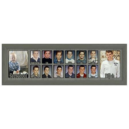 """""""School_Years_Picture_Frame_7_x_25__Personalized_Preschool_2.5""""""""_x_3.5"""""""""""""""