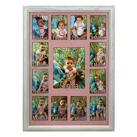 Baby_First_Year_Picture_Frame_Collage_-_Personalized_-_19x27_-_Unfinis
