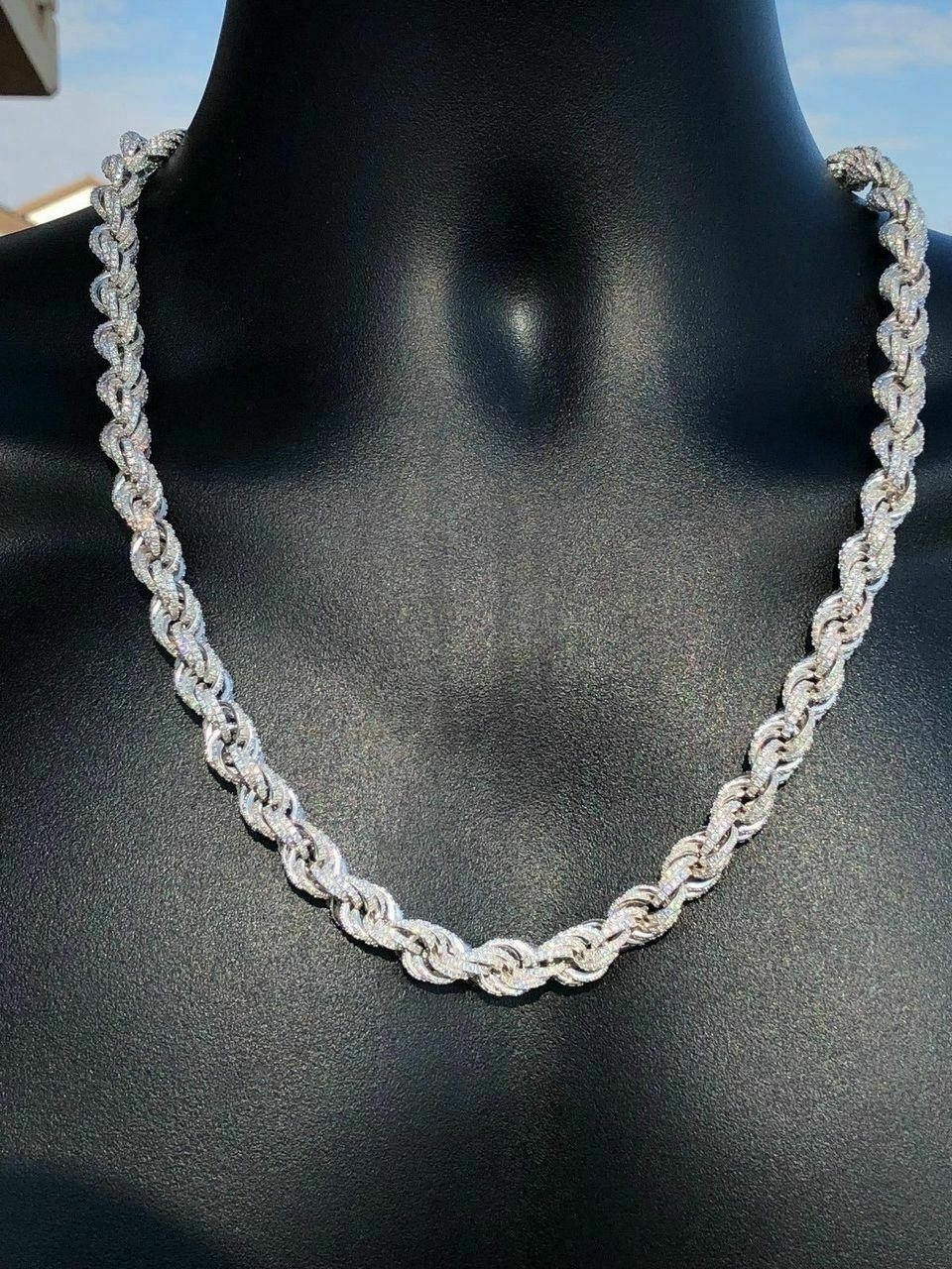 Men's_Solid_925_Sterling_Silver_Men's_Rope_Chain_Thick_9mm_ICY_Diamond