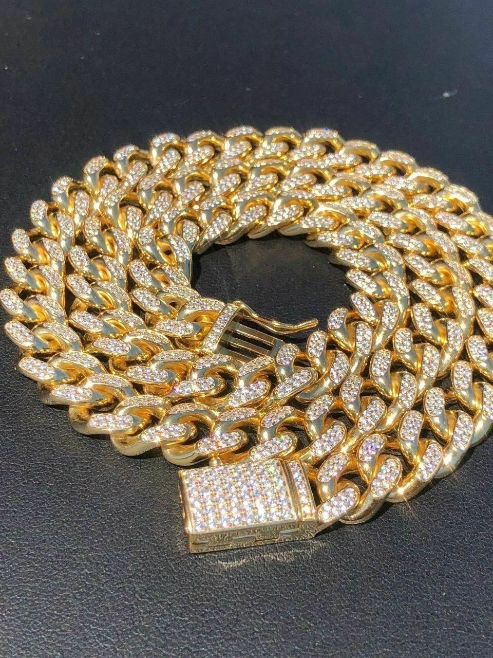 Miami_Cuban_Link_Chain_14k_Yellow_Gold_Over_Solid_925_Silver_Icy_10mm