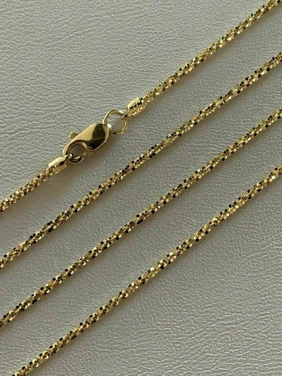 Solid_14k_Yellow_Gold_Ladies_1.5mm_Sparkle_Rope_Chain_Twist_Necklace_Diamond