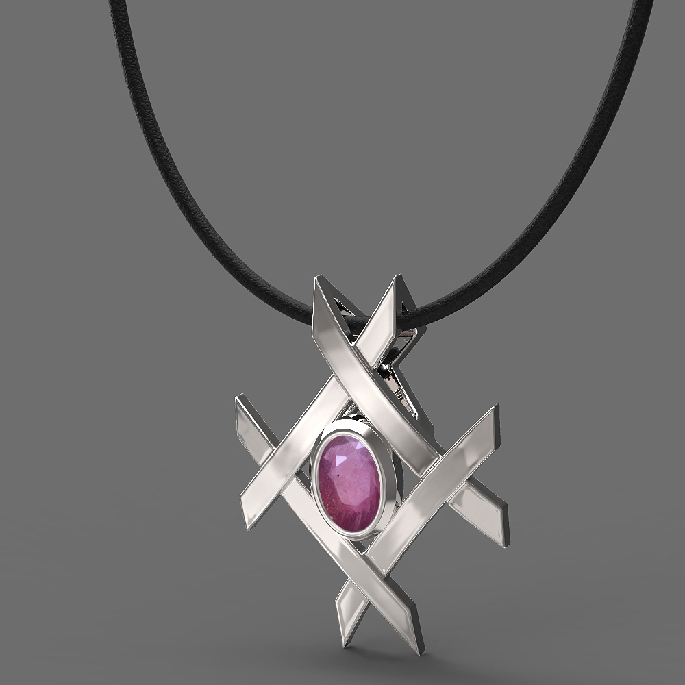 FANY Women/'s Fashionable 0.925 Argentium Gold Plated Silver Light Amethyst Gemstone Pendant 0.39 Ct Valentine/'s Day Perfect Gift
