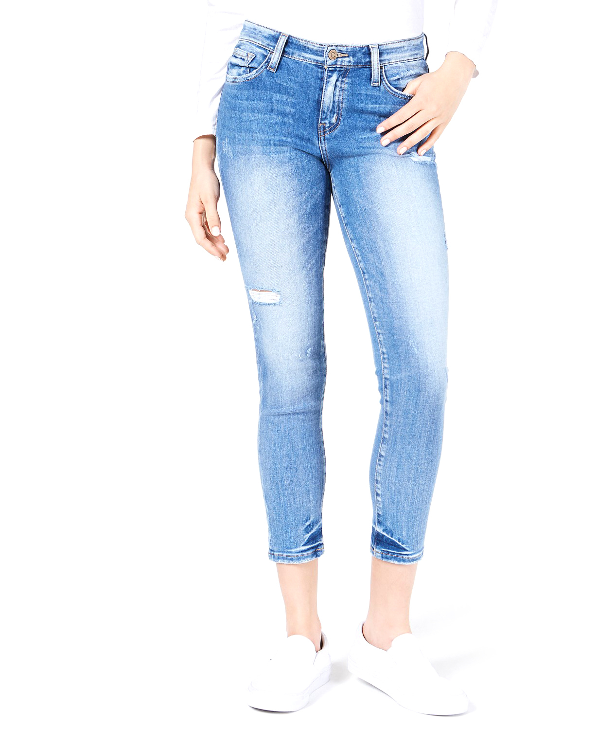 maurices Flying MonkeyTM high Rise Super Soft Skinny Cropped Jean