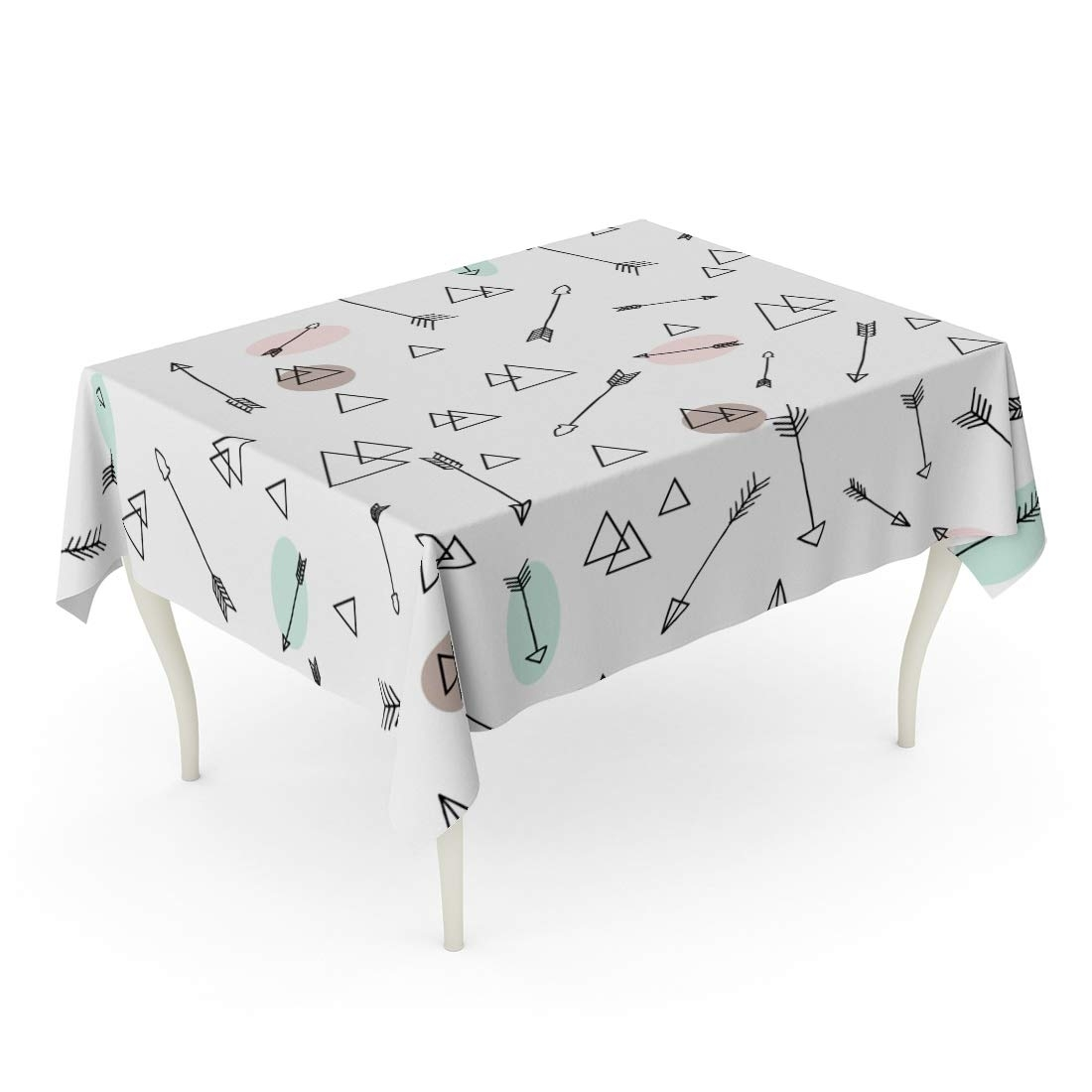Arrows Table Runner Gifts Housewarming Table linen White//gray table decor