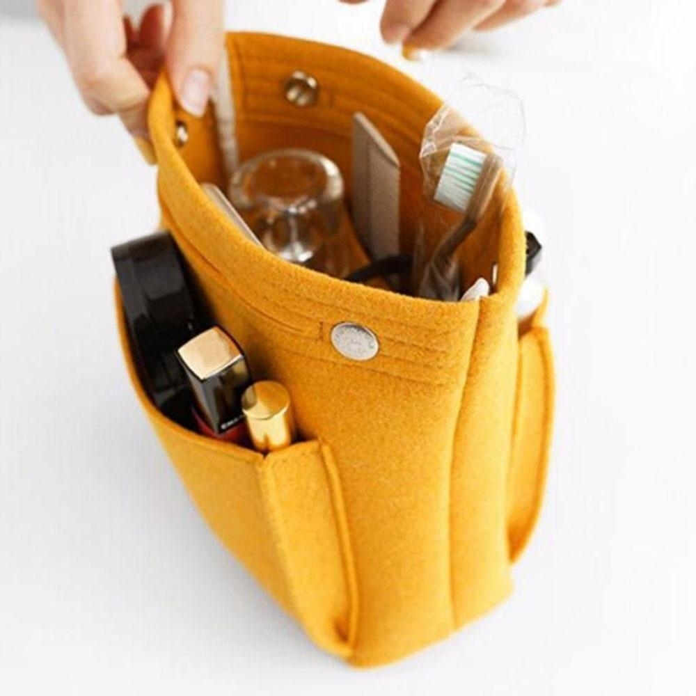 DX Portable Multifunction Travel Cosmetic Bag Large Capacity Purse Organizer photo