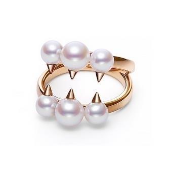 Angel_little_devil_Pearl_Ring_18K_Gold_fanged_forefinger_ring