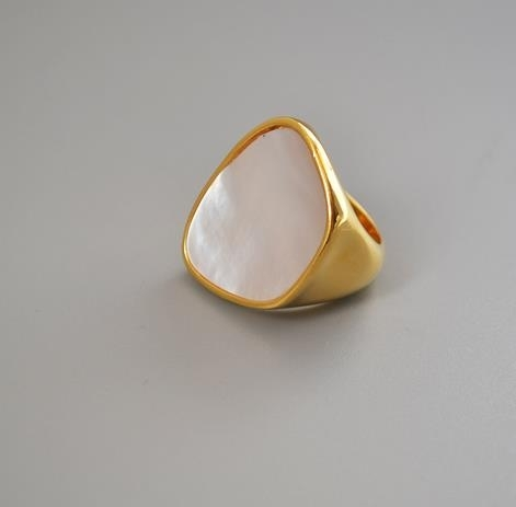 18K_gold_original_cold_wind_white_pearl_shell_mother_shell_small_crowd